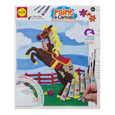 Paint a Canvas™- Horse - KIDTON