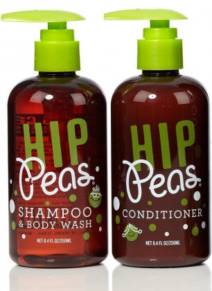 Hip Peas Shampoo & Body Wash and Conditioner - 8.4oz / 8.4oz - KIDTON - 1