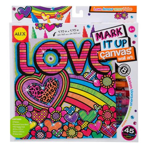 Mark It Up Canvas™ Love - KIDTON