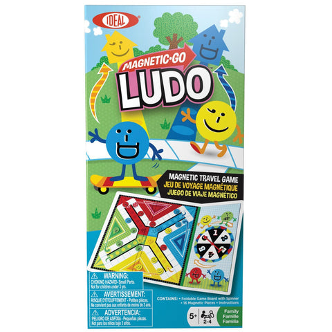 Magnetic Go! Games - Ludo - KIDTON - 1