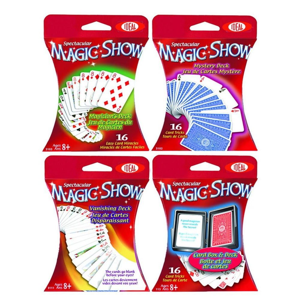 Magic Card Assortment 4pack - KIDTON