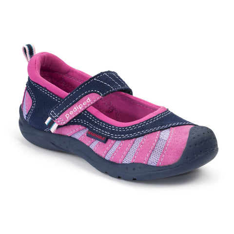 Pediped Flex - Minnie Navy/Pink - KIDTON - 1