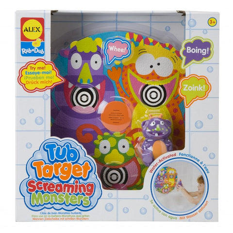 Tub Target Screaming Monsters™ - KIDTON