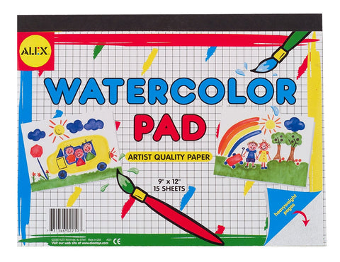 Watercolor Pad - KIDTON