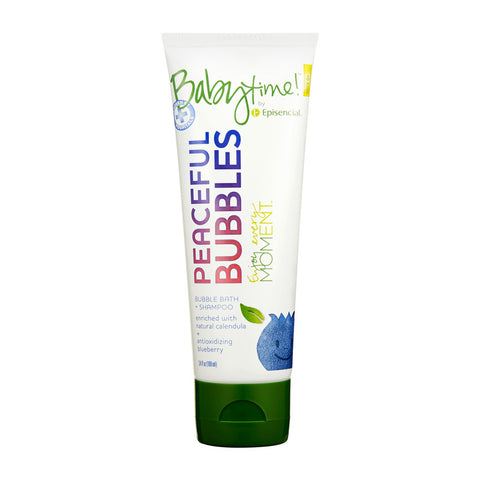 Peaceful Bubbles 3.4oz - Babytime by Episencial - KIDTON