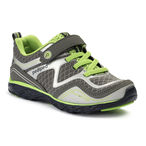 Pediped Flex - Force Grey/Lime - KIDTON - 1