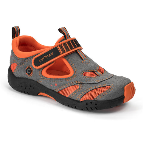 Pediped Flex - Stingray Grey/Orange - KIDTON - 1