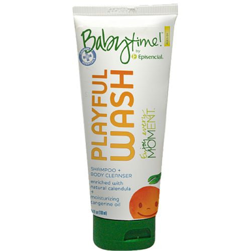 Playful Wash 3.4oz - Babytime by Episencial - KIDTON