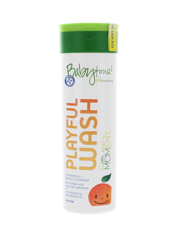 Babytime! by Episencial Playful Wash 8oz - KIDTON - 3
