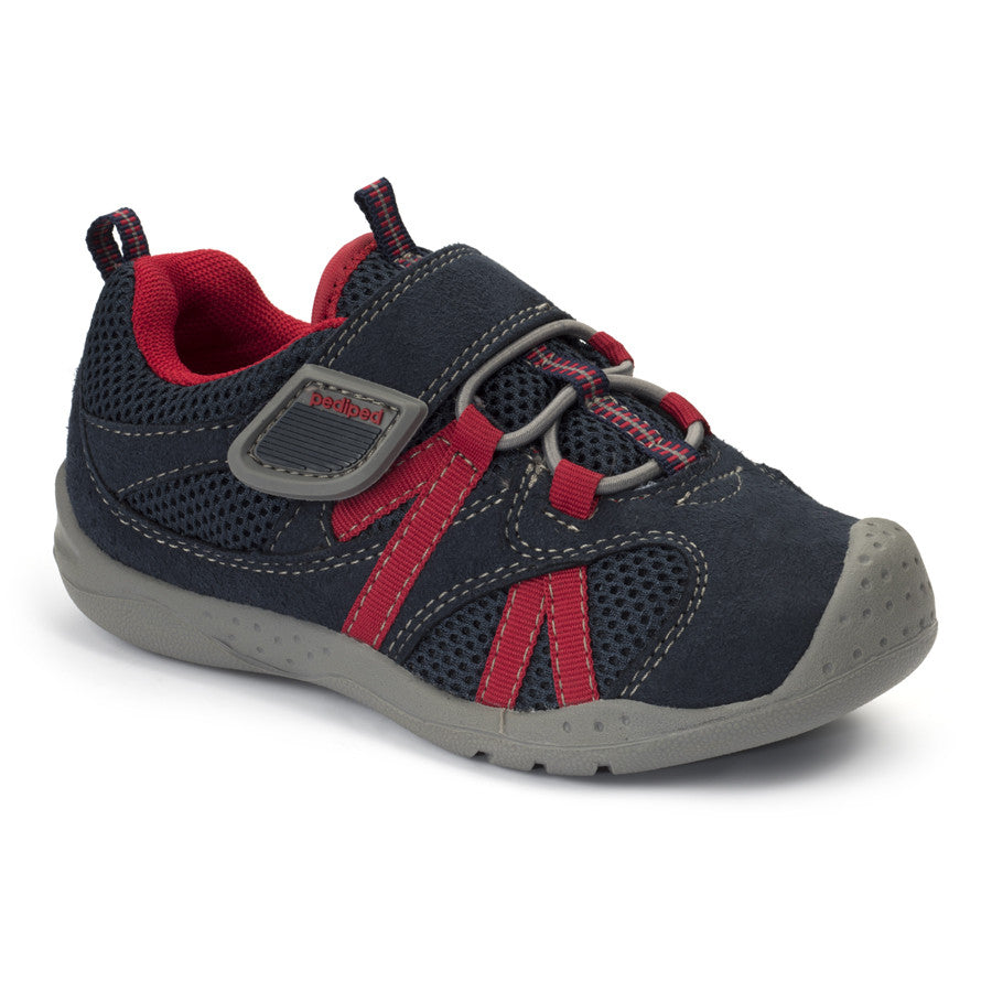 Pediped Flex - Renegade Navy/Red - KIDTON - 1
