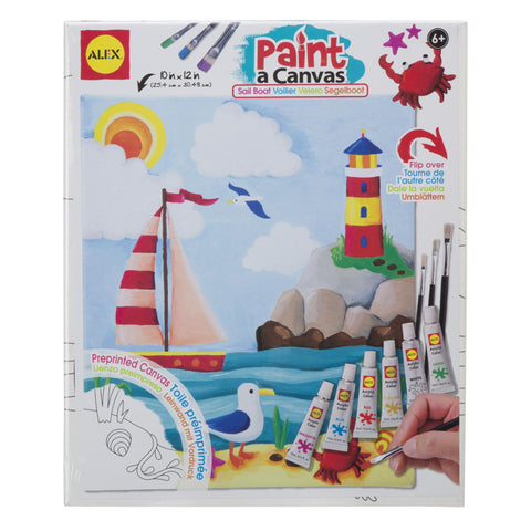 Paint a Canvas™- Sailboat - KIDTON