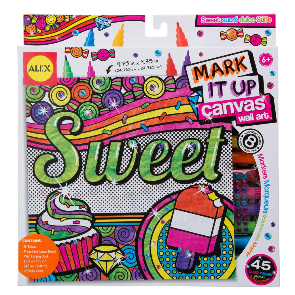 Mark It Up Canvas™ Sweet - KIDTON
