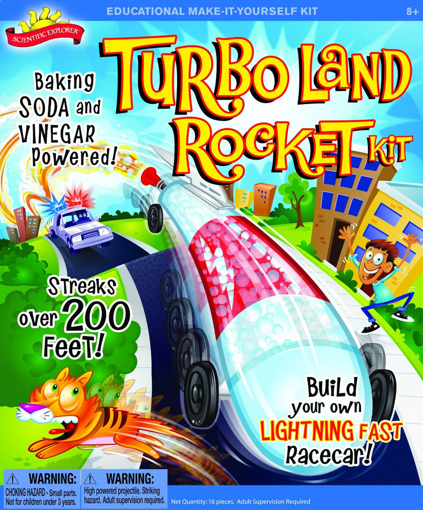 Turbo Land Rocket™ - KIDTON - 1