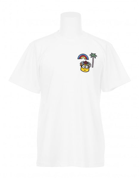 Caine London x Minions by Craig & Karl Palm Tree Rainbow T-Shirt