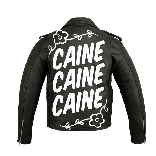 CAINE LONDON LEATHER JACKET