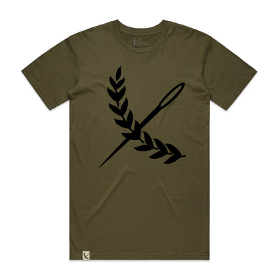 Oversized Imperial Tee - Army