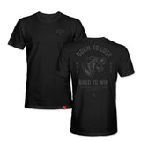 BORN TO LOSE TEE - BLACK/BLACK