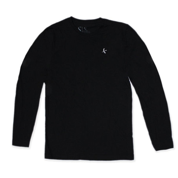 Imperial Long Sleeve- Black / White