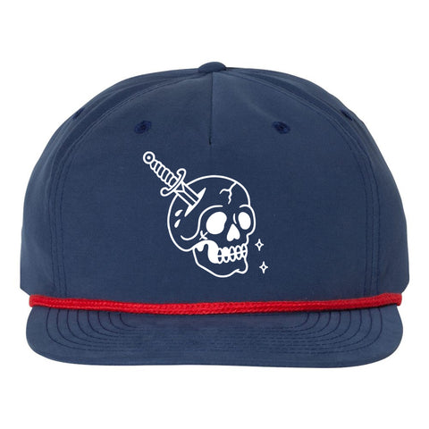 Bone Head Surf Cap - Blue