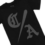 C/A Tee - Black/Dark Grey