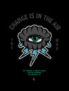 Change is in the Air Poster - Black / Teal