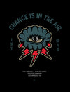 Change is in the Air Poster - Blue / Red
