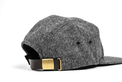 Heritage 5 Panel Cap - Charcoal Heather