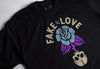 FAKE LOVE TEE - Black
