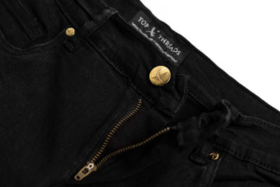 Black Wash Denim