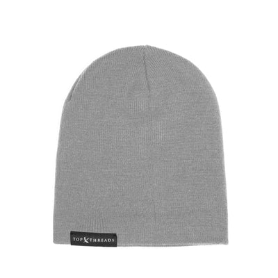 Never Lose Skullcap Fold Beanie- Grey
