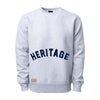 Heritage Heavyweight Crew - Heather Grey