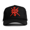 Hieroglyphic Cap - Black/Red