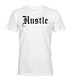 Oversized Hustle Tee - White/Black