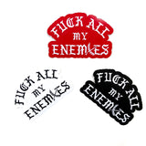 "Fuck All My Enemies 5"" Sticker Pack"