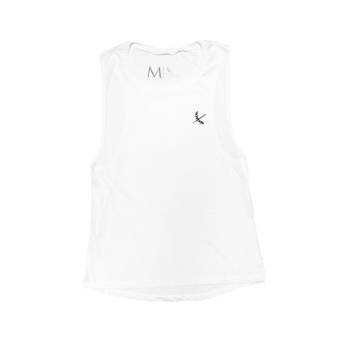 Imperial Cutoff Tank- White