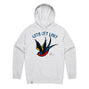 Lets Get Lost Hoodie - Heather White