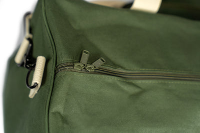 NO HAND OUTS DUFFEL BAG - OLIVE