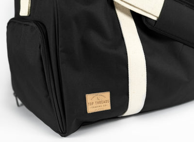 NO HAND OUTS DUFFEL BAG - BLACK