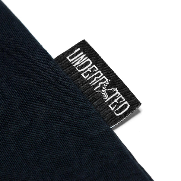Quality Goods Tee - (Navy/White)