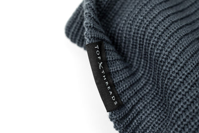 NEVER LOSE Knit Beanie- Harbor Blue