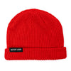 NEVER LOSE Knit Beanie- Red