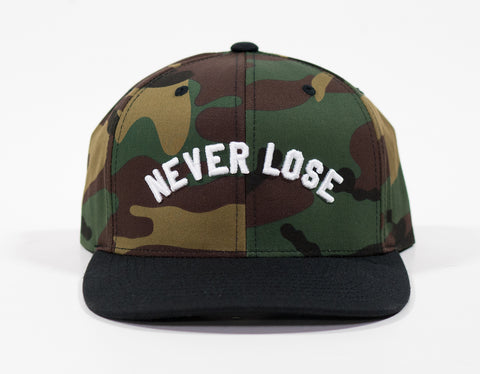 Never lose Snapaback - Camo