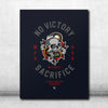 No Victory Canvas 30x 40 - Navy