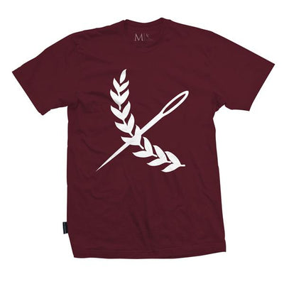Oversized Imperial Tee - Burgundy