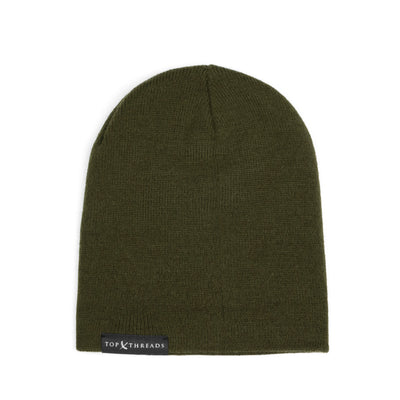 Never Lose Skullcap Fold Beanie - Army