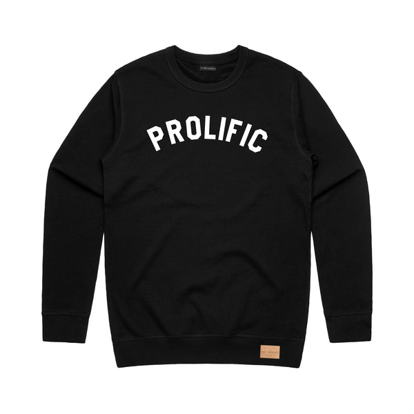 Prolific Crew Neck - Black