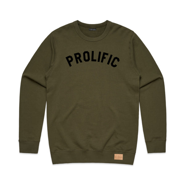 Prolific Crew Neck - Olive