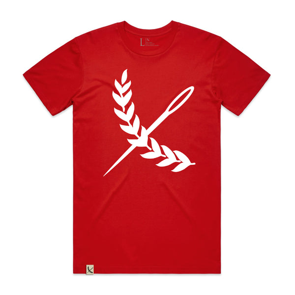 Oversized Imperial Tee - Red