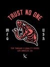 Trust No One Poster - Black
