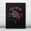 Trust No One Canvas - Black